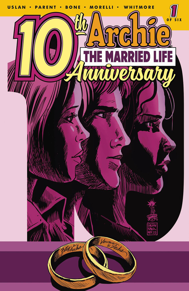 Image: Archie: The Married Life - 10th Anniversary #1 (cover C - Francavilla)  [2019] - Archie Comic Publications