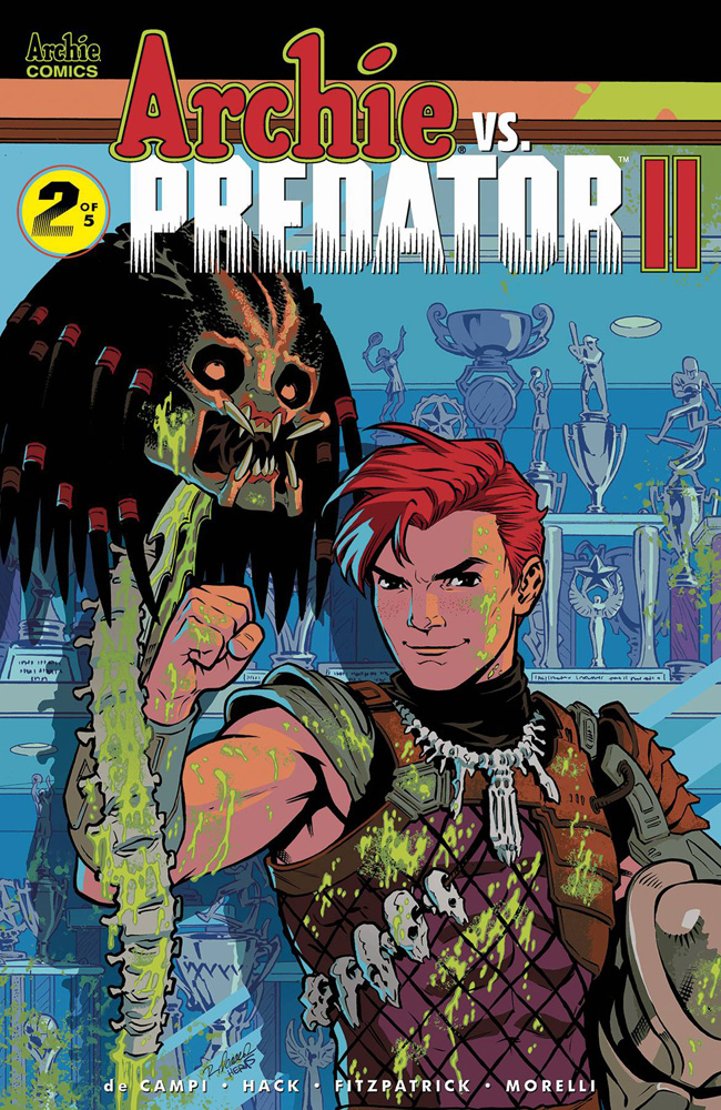 Image: Archie vs. Predator II #2 (cover D - Isaacs) - Archie Comic Publications