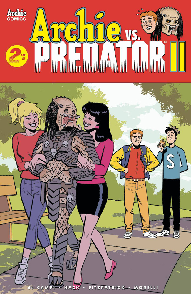 Image: Archie vs. Predator 2 #2 (cover E - Smallwood) - Archie Comic Publications