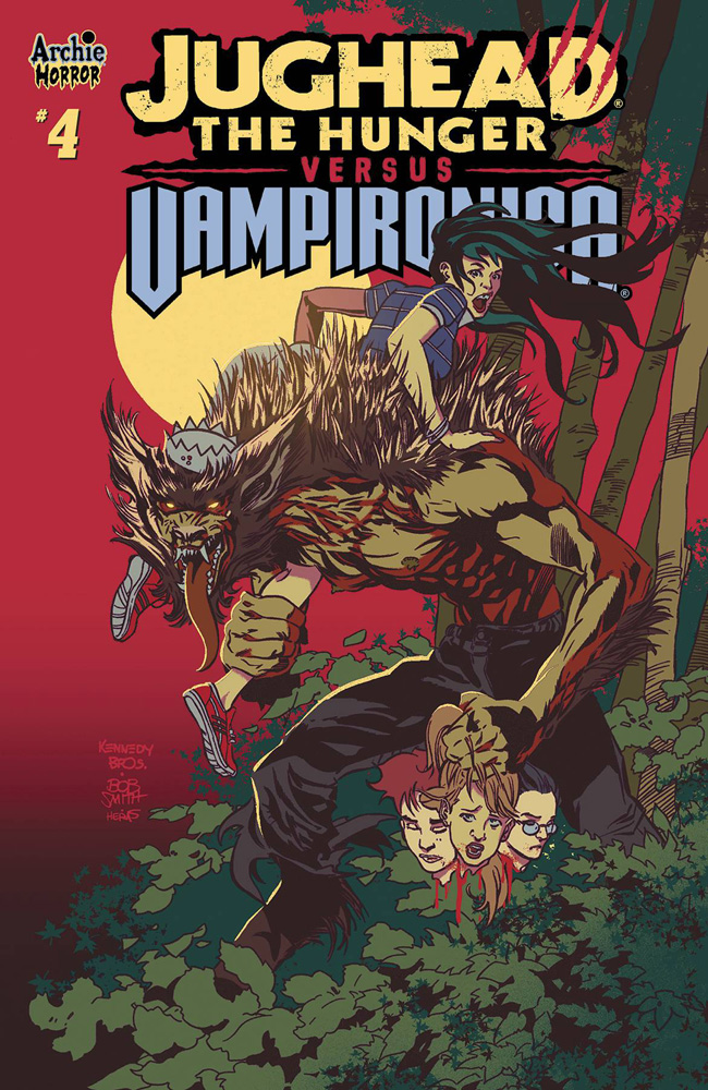 Image: Jughead: The Hunger vs. Vampironica #4 (cover A - Pat & Tim Kennedy) - Archie Comic Publications