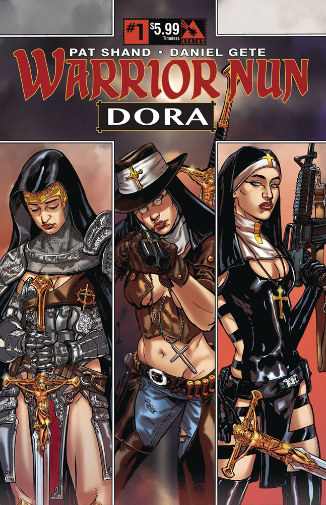 Image: Warrior Nun: Dora #1 (Timeless cover) - Avatar Press Inc