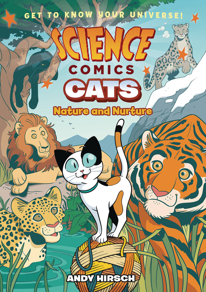 Image: Science Comics: Cats - Nature and Nurture SC  - First Second (:01)