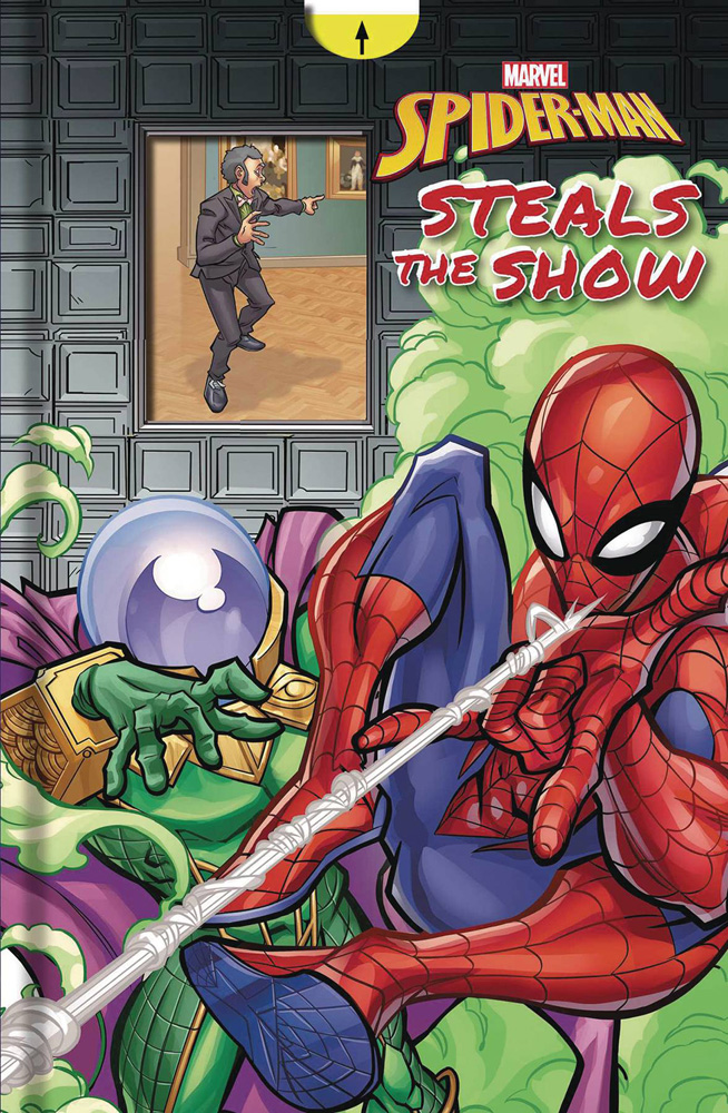 Image: Marvel Spider-Man: Spider-Man Steals the Show HC  (Young Readers) - Printers Row