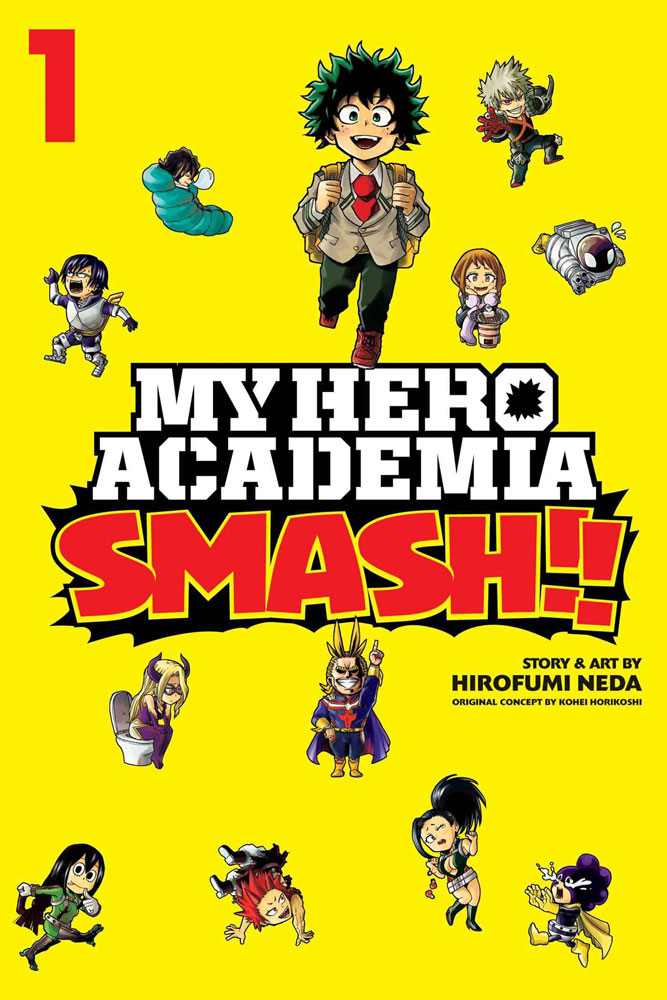 Image: My Hero Academia Smash!! Vol. 01 SC  - Viz Media LLC