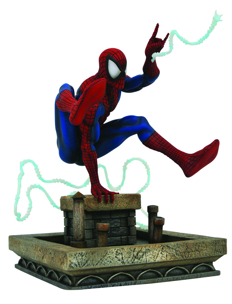 Marvel Gallery PVC Diorama: Spider-Man  (1990s) - Diamond Select Toys LLC