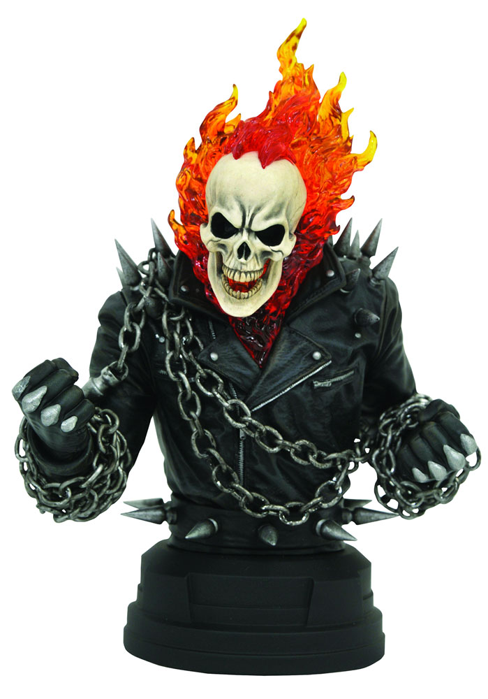 Marvel Bust: Ghost Rider  (Comic) (1/6 Scale) - Diamond Select Toys LLC