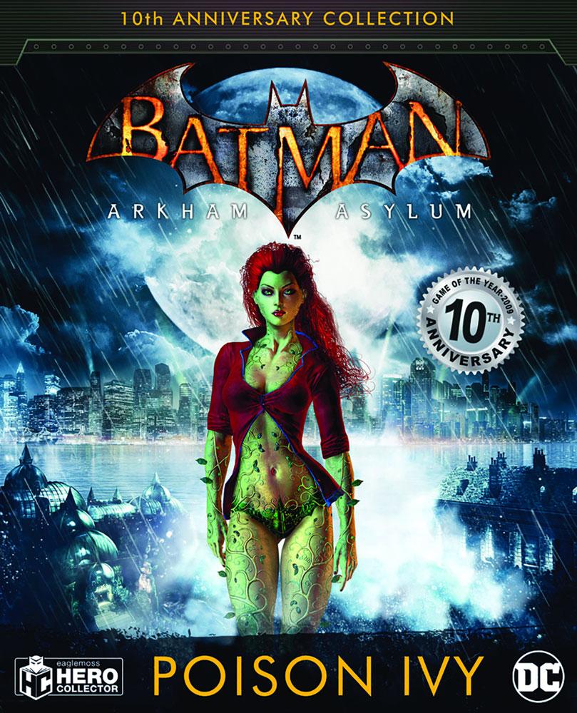 DC Batman Arkham Asylum Figure Collectible #4 (Poison Ivy) - Eaglemoss Publications Ltd