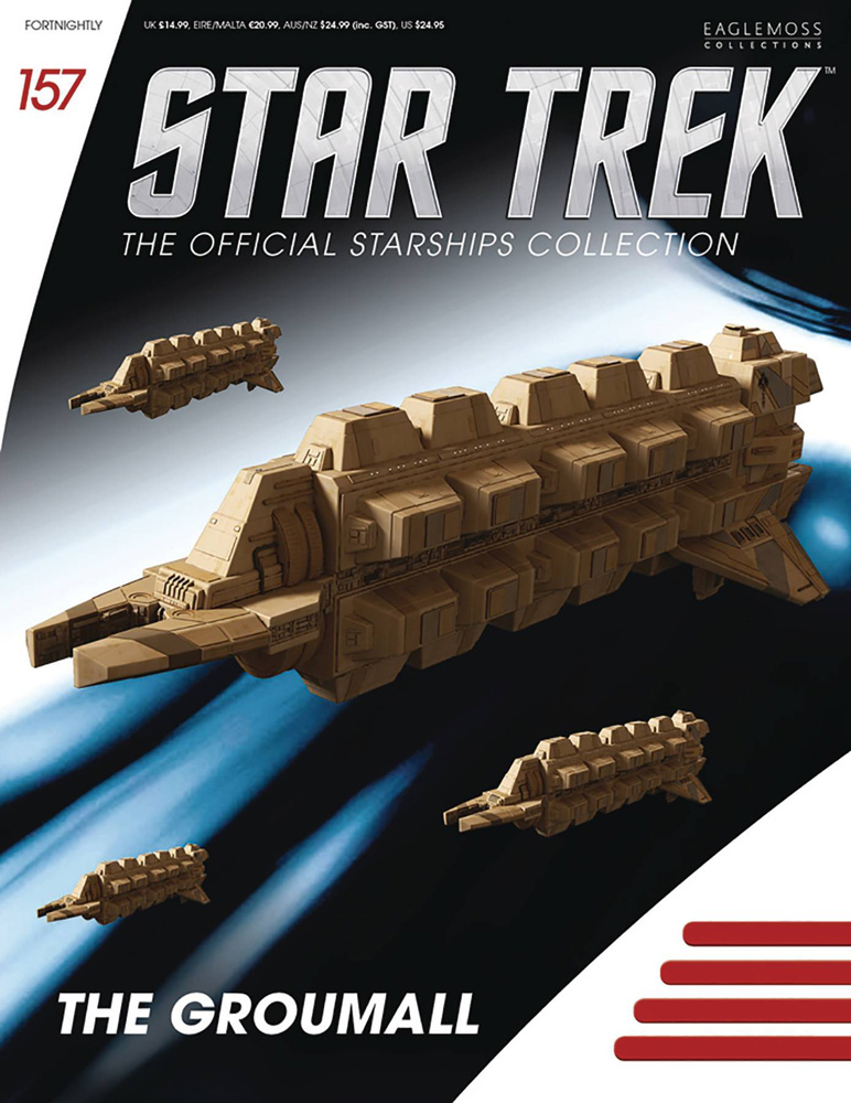 Image: Star Trek Official Starships Collection: Cardassian Freightor Groumall #157 - Eaglemoss Publications Ltd