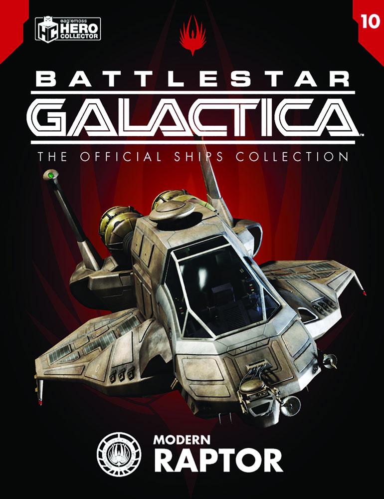 Battlestar Galactica Official Starships Collection: Raptor  - Eaglemoss Publications Ltd