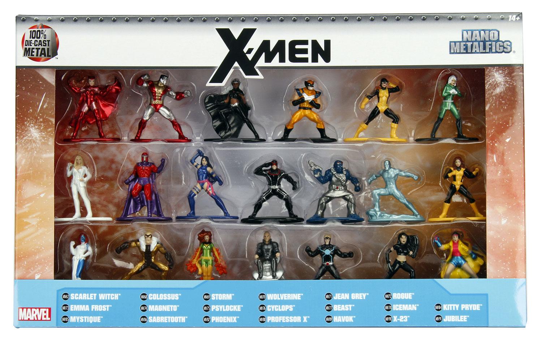 Marvel Heroes X-Men Metalfigs Nano 20-Piece Set  - Jada Toys, Inc