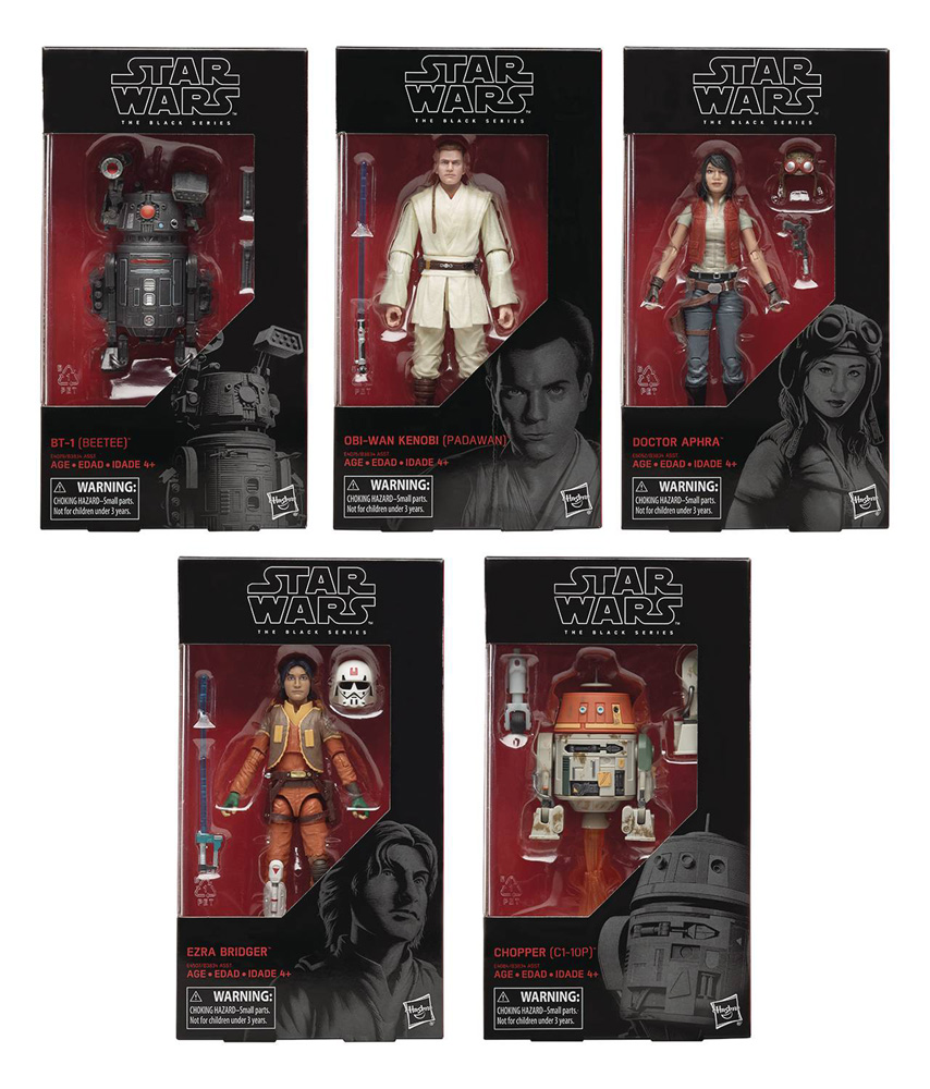 Image: Star Wars: Black Series 6-Inch Action Figure Assortment 201902  - Hasbro Toy Group