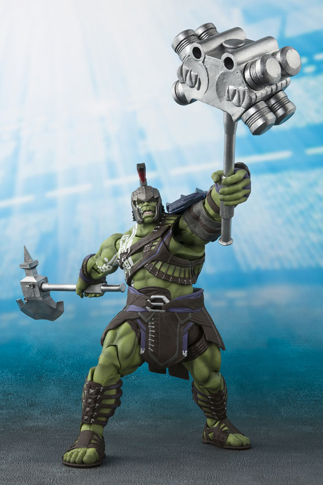 Thor Ragnarok S.H.Figuarts Action Figure: Hulk  - Bluefin