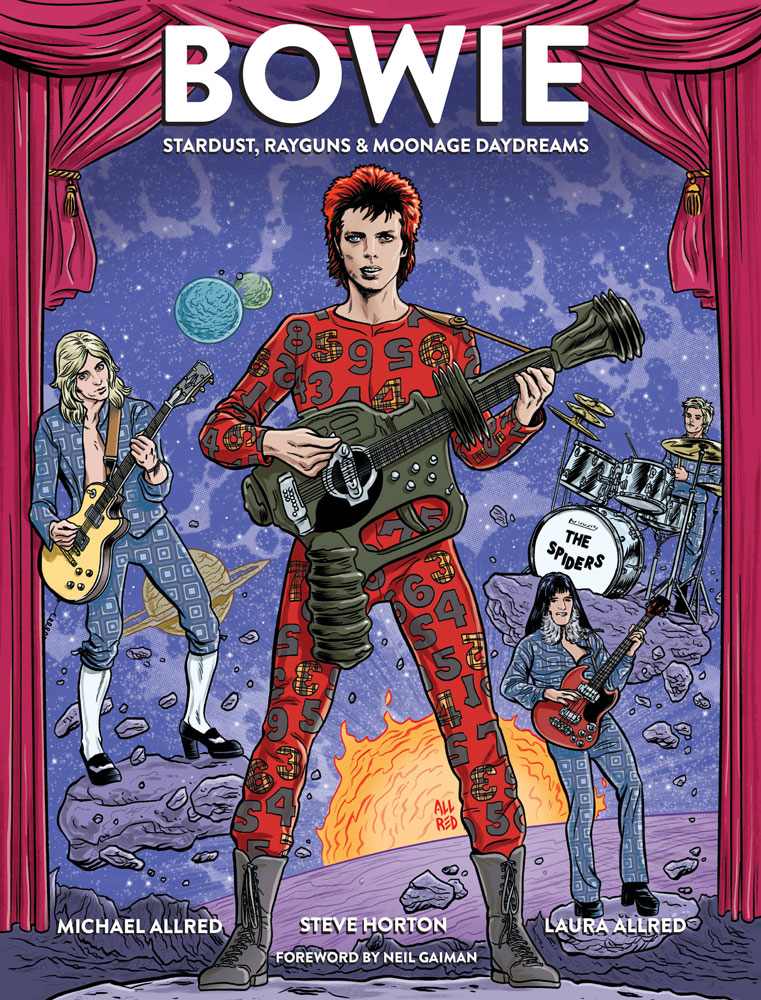 Image: Bowie: Stardust, Rayguns & Moonage Daydreams Previews Exclusive HC  - Insight Comics