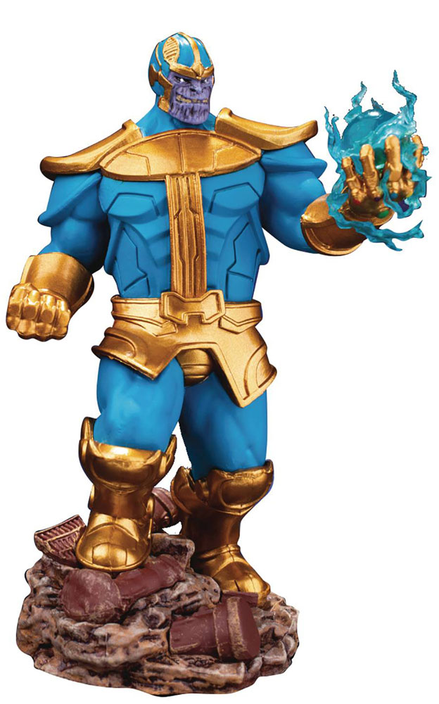 Image: Avengers 3 Infinity War D-Stage Series PX Comic: Thanos  (6 Inch) - Beast Kingdom Co., Ltd