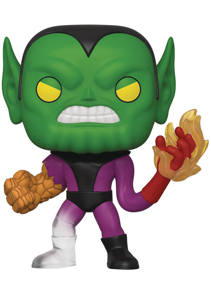Image: Pop! Marvel Bobble-Head 566: Fantastic Four - Super Skrull  - Funko