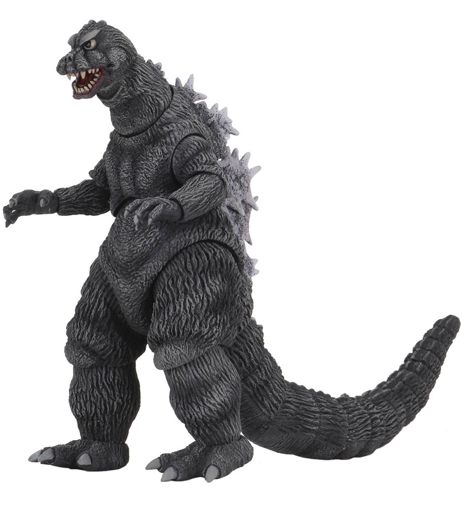 Image: Godzilla Against Mothra Action Figure: Godzilla  - NECA
