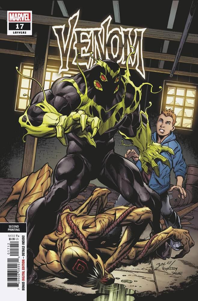 Venom #17 (variant cover - Bagley 2nd printing) - Westfield