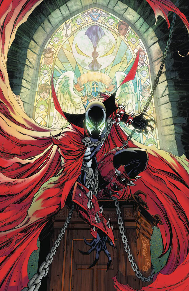 Image: Spawn #300 (cover M - Campbell virgin)  [2019] - Image Comics