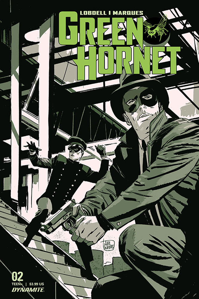 Image: Green Hornet Vol. 03 #2 (cover A - Weeks)  [2020] - Dynamite