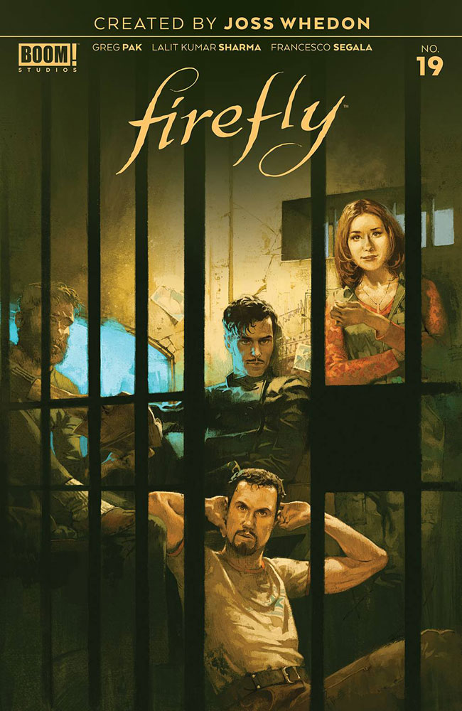 Image: Firefly #19 (cover A - Main Aspinall) - Boom! Studios