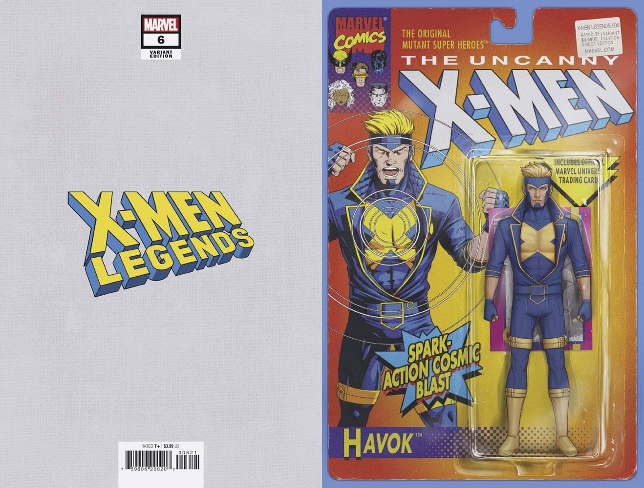 X-Men Legends #6 (variant Action Figure cover - Christopher)  [2021] - Marvel Comics