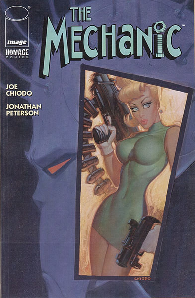 Image: Joe Chiodo's The Mechanic  (DFE Alternate Cover) - Dynamic Forces