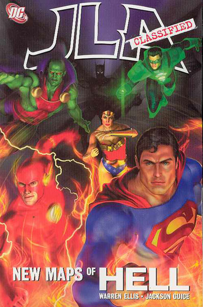 Image: JLA Classified: New Maps of Hell SC  - DC Comics