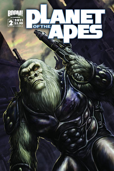 Image: Planet of the Apes #2 (10-copy incentive cover) (v10) - Boom! Studios