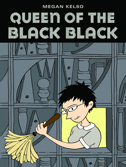 Image: Queen of the Black Black SC  - Fantagraphics Books