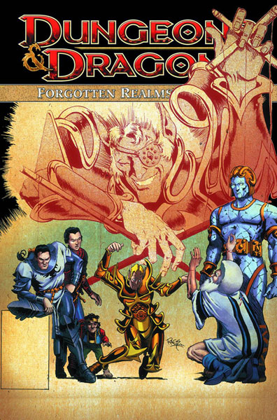 Image: Dungeons & Dragons: Forgotten Realms Classics Vol. 03 SC  - IDW Publishing