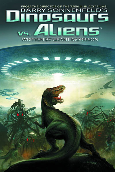 Image: Dinosaurs vs. Aliens HC  - D. E./Dynamite Entertainment