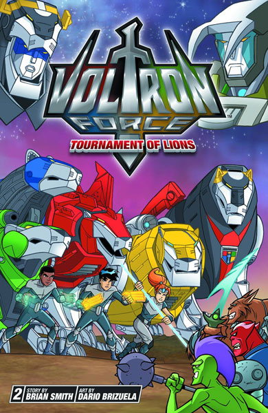 Image: Voltron Force Vol. 02: Tournament of Lions SC  - Viz Media LLC