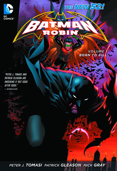 Image: Batman & Robin Vol. 01: Born to Kill SC  (New 52) - DC Comics