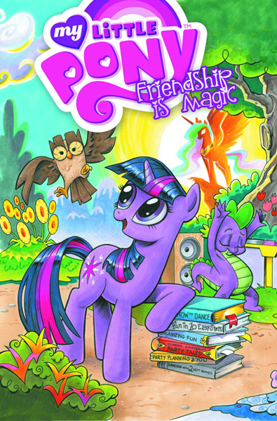 Image: My Little Pony: Friendship is Magic Vol. 01 SC  - IDW Publishing