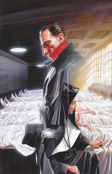 Image: Shadow #14 (15-copy incentive Ross virgin cover) - Dynamite