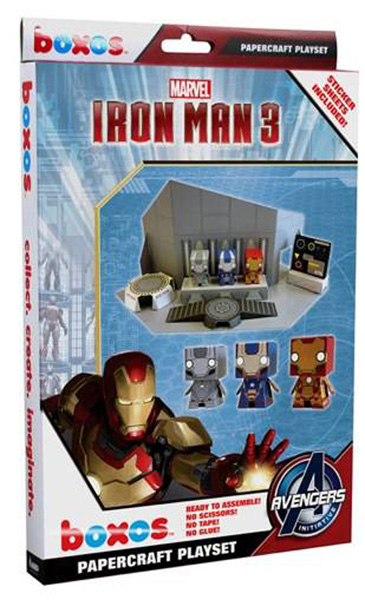 Funko Iron Man 3 Papercraft Marvel Activity Set