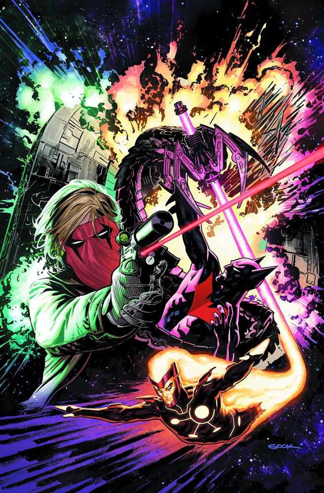 Image: New 52 - Futures End #1 (variant cover) - DC Comics
