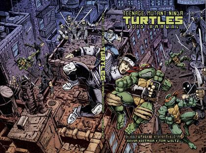 Teenage Mutant Ninja Turtles Annual 2012 HC  (deluxe limited) - IDW Publishing