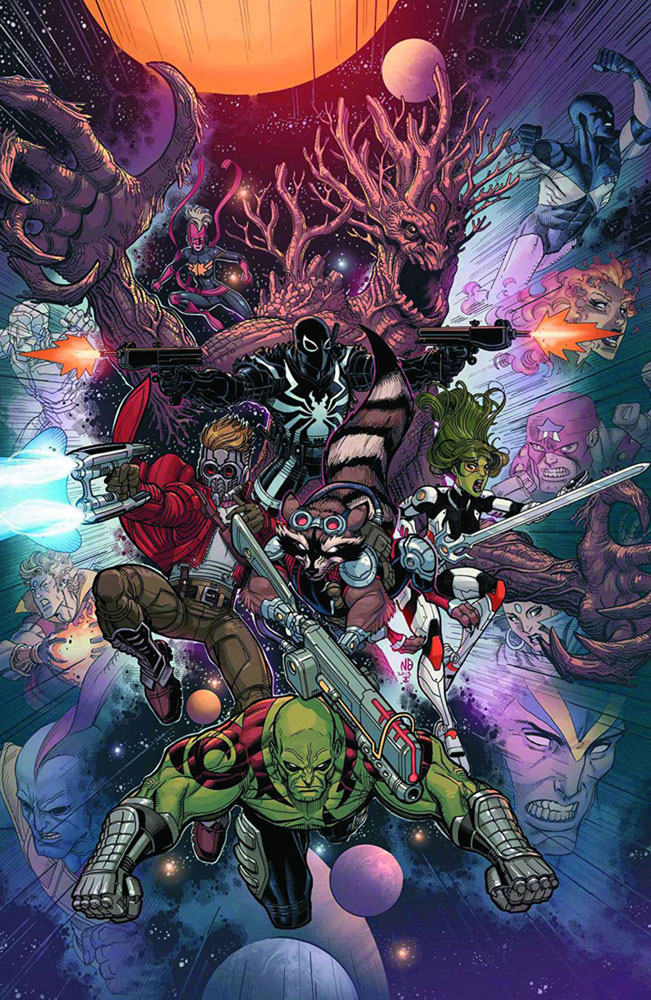Image: Guardians of the Galaxy #14 (variant 2nd printing cover - Nick Bradshaw)  [2014] - Marvel Comics