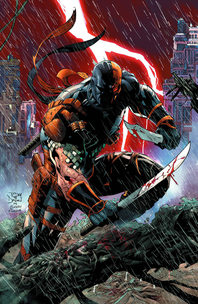 Image: Deathstroke Vol. 01: Gods of War SC  (N52) - DC Comics