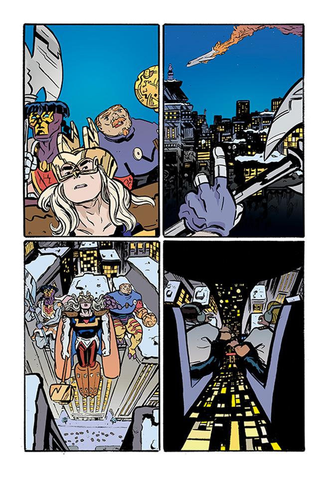 Valhalla Mad #1 (cover A - Maybury) - Image Comics
