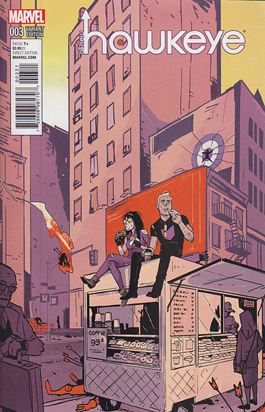 Image: All-New Hawkeye #3 (Wu variant cover - 00321) - Marvel Comics