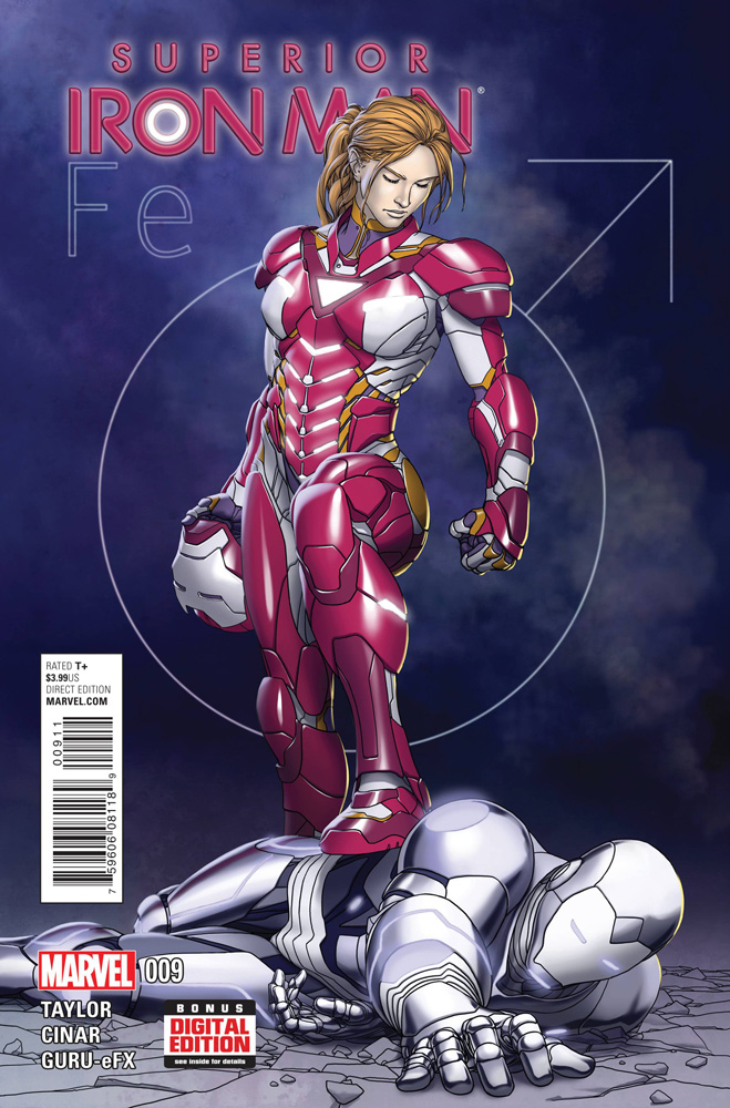 Image: Superior Iron Man #9 - Marvel Comics