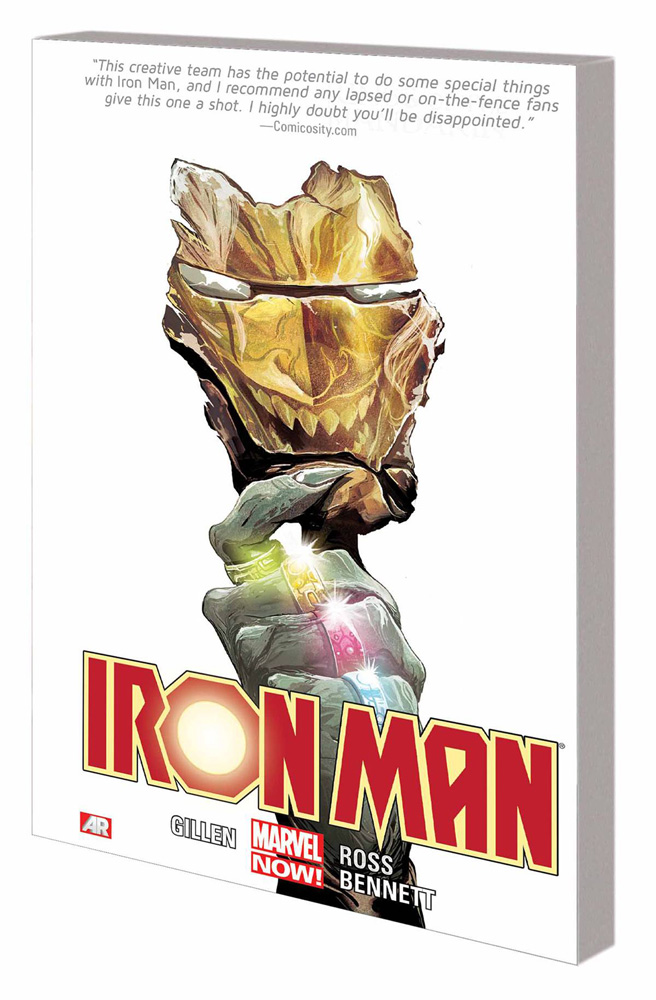Image: Iron Man Vol. 05: Rings of the Mandarin SC  - Marvel Comics