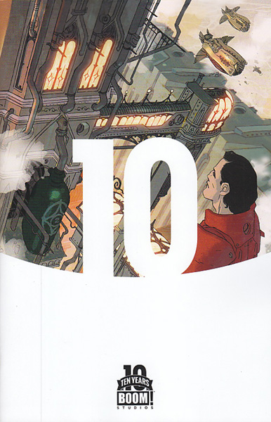 Image: Lantern City #1 (Caldwell Ten Years variant incentive cover - 00121) (10-copy) - Boom! - Archaia