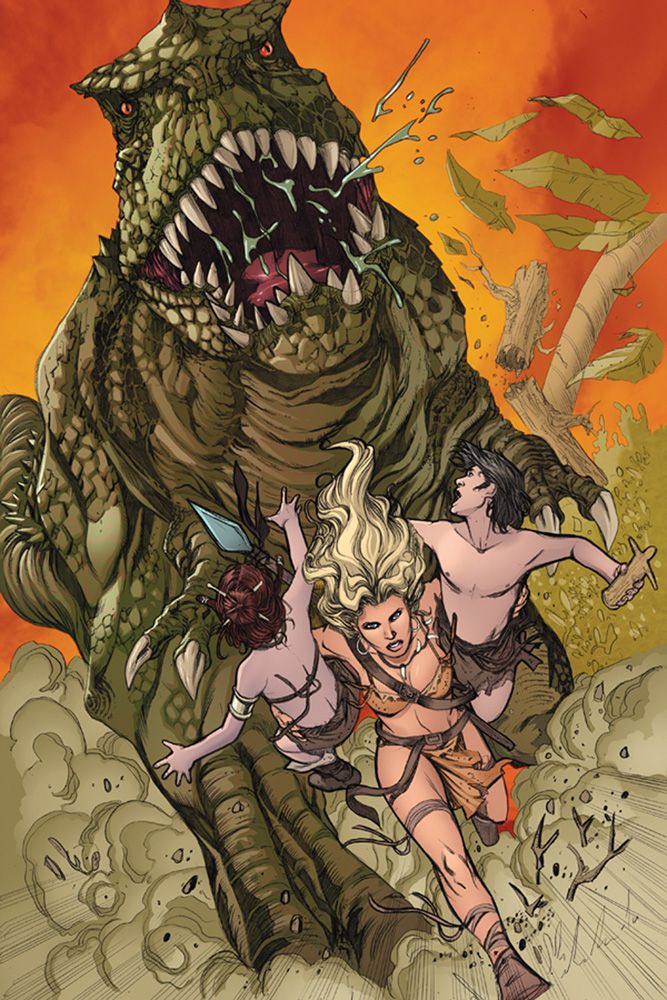 Swords of Sorrow #1 (Lupacchino b&w variant incentive cover - 01101) (40-copy) - Dynamite