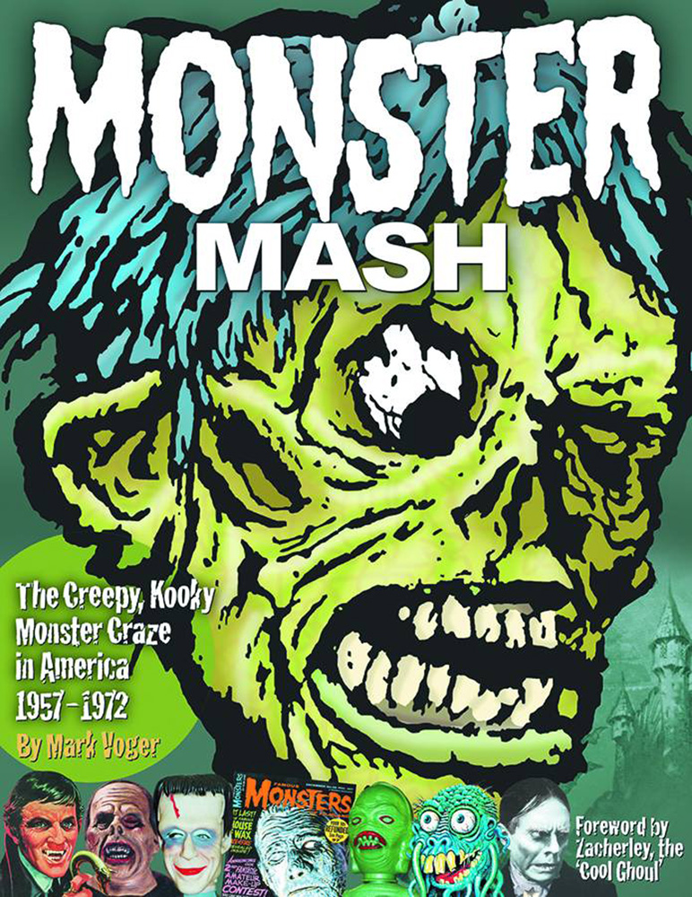 Image: Monster Mash: The Creepy, Kooky Monster Craze in America, 1957-1972 HC  - Twomorrows Publishing