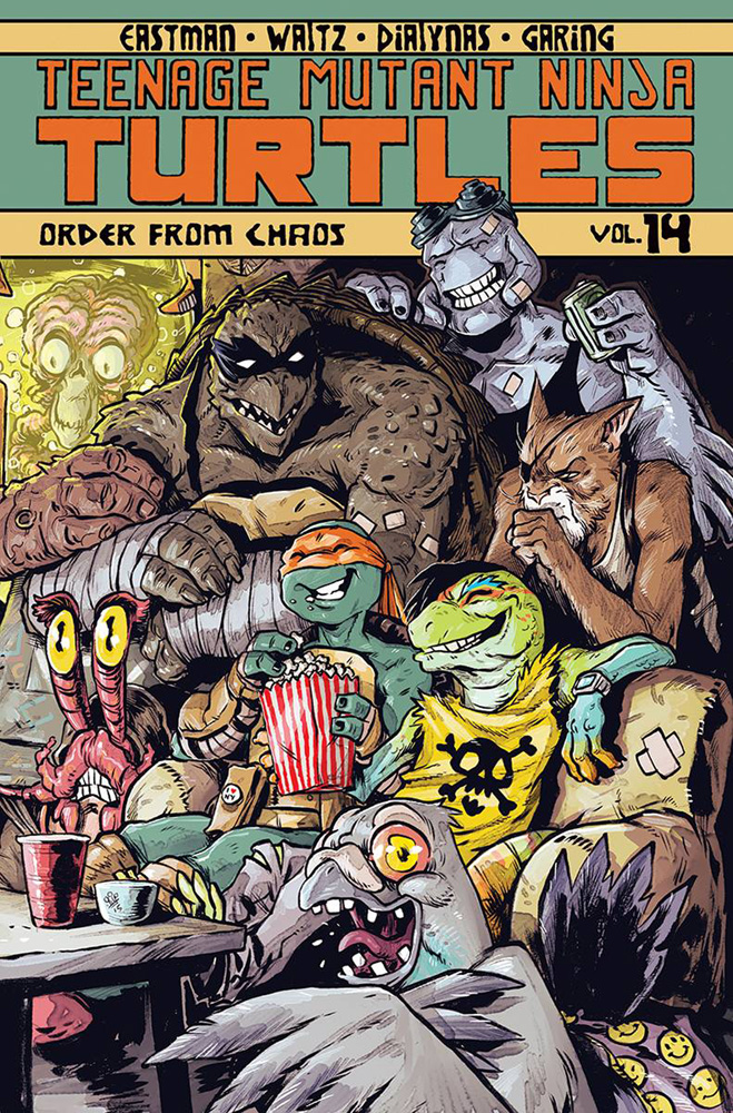 Image: Teenage Mutant Ninja Turtles Vol. 14: Order from Chaos SC  - IDW Publishing