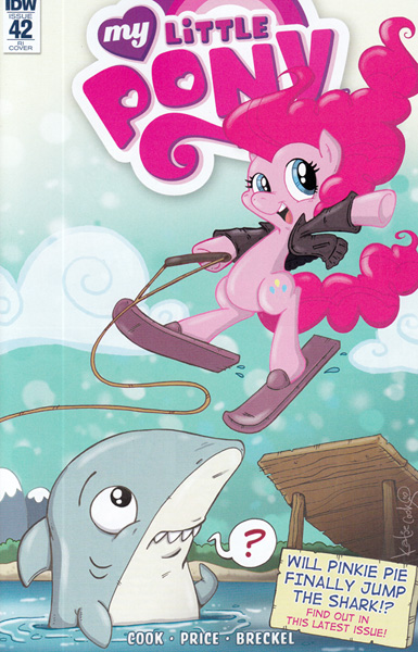 Image: My Little Pony: Friendship Is Magic #42 (variant incentive cover - Vibrandt) (10-copy)  [2016] - IDW Publishing