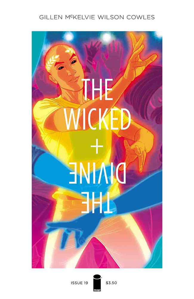 Image: Wicked + The Divine #19 (cover A - McKelvie & Wilson)  [2016] - Image Comics